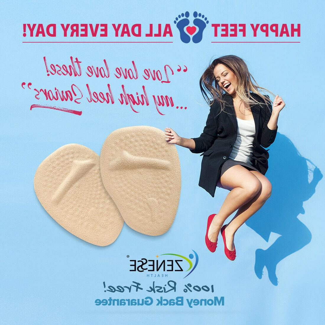 Metatarsal Pads for Women On The Go Ball of Foot Inserts