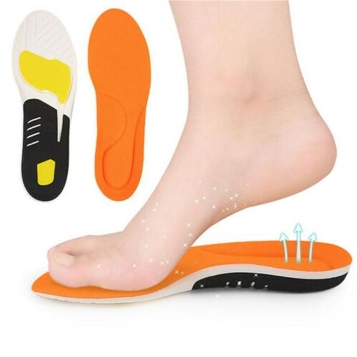Orthopedic Insoles Flat Health Shoes Insert Arch Support CO