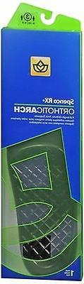 Orthotic Arch Supports Full Length Size W 9-10 M 8-9