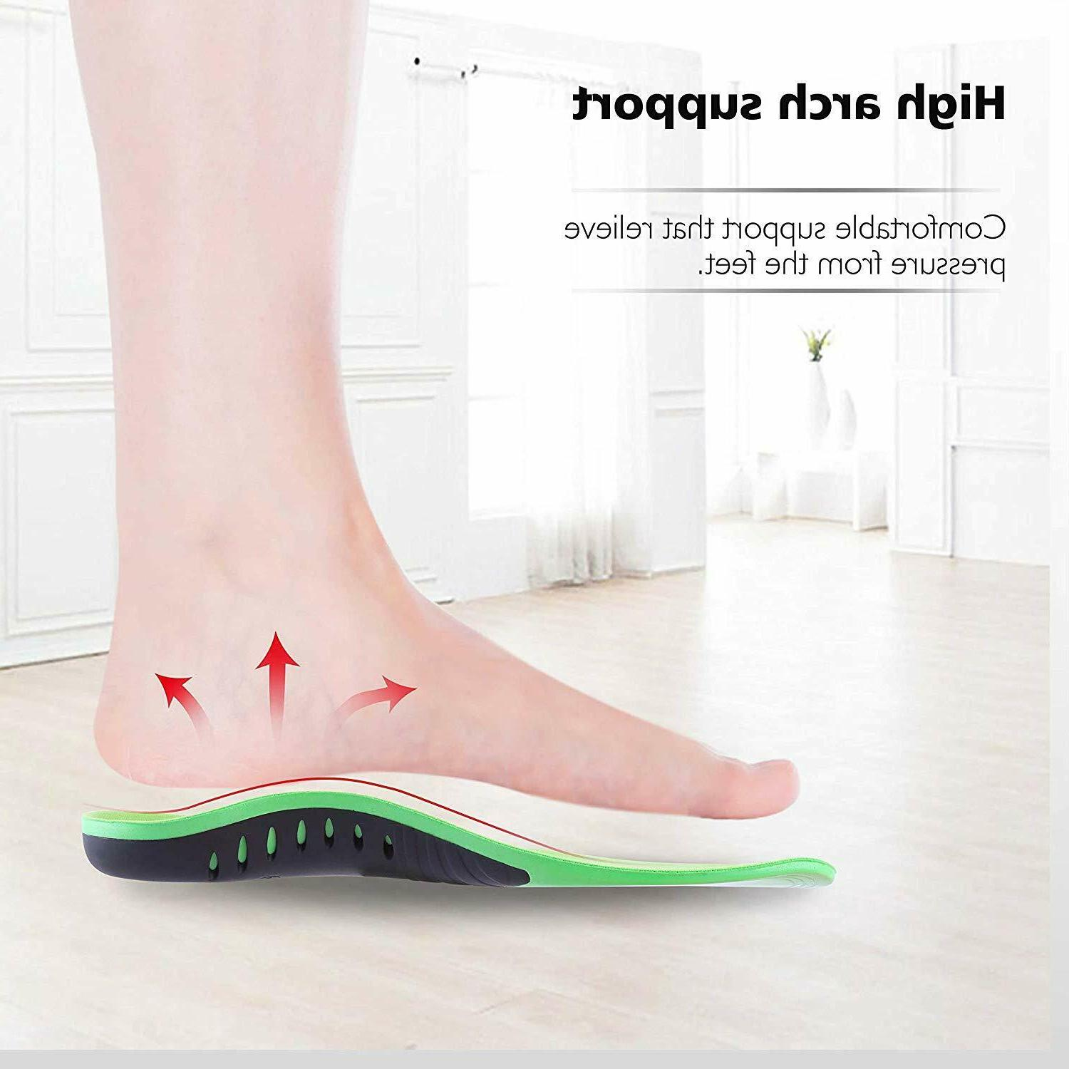 Orthotic Shoe Flat Feet High Arch Support Fasciitis