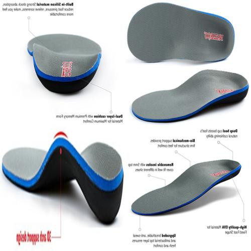 orthotic insoles for flat ft shoe inserts