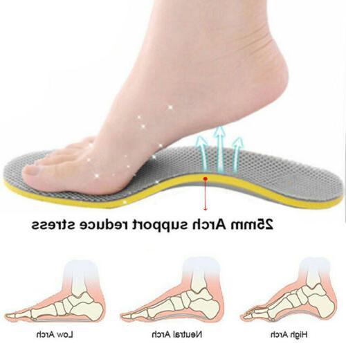 Orthotic Insoles for plantar fasciitis Feet Support Shoe