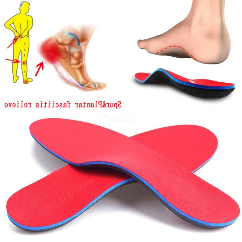 orthotic shoe insoles arch support flat feet