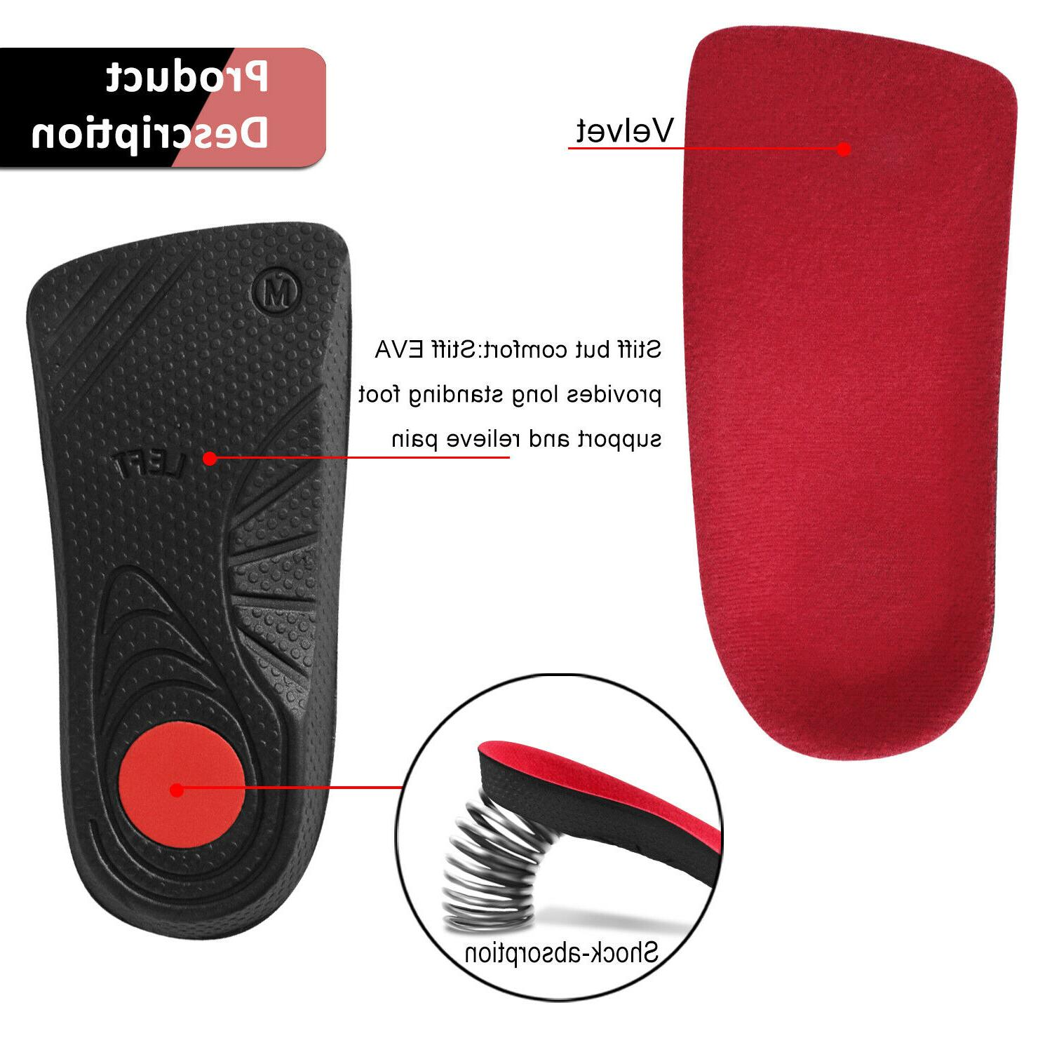 Orthotic Insoles Support Orthopedic
