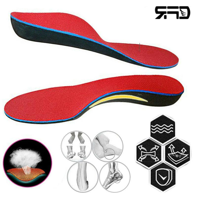 orthotic shoe insoles arch support inserts plantar