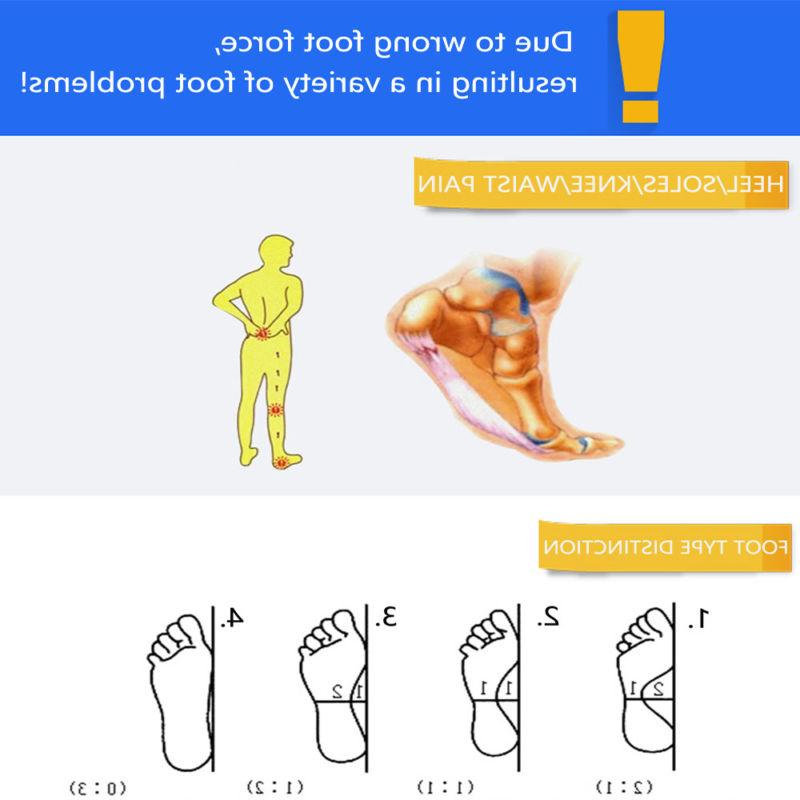 Orthotic Insoles Feet Heel Support Relief