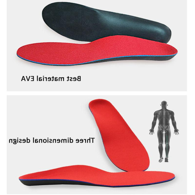 Orthotic Flat Feet Foot Arch Heel Support Inserts Relief