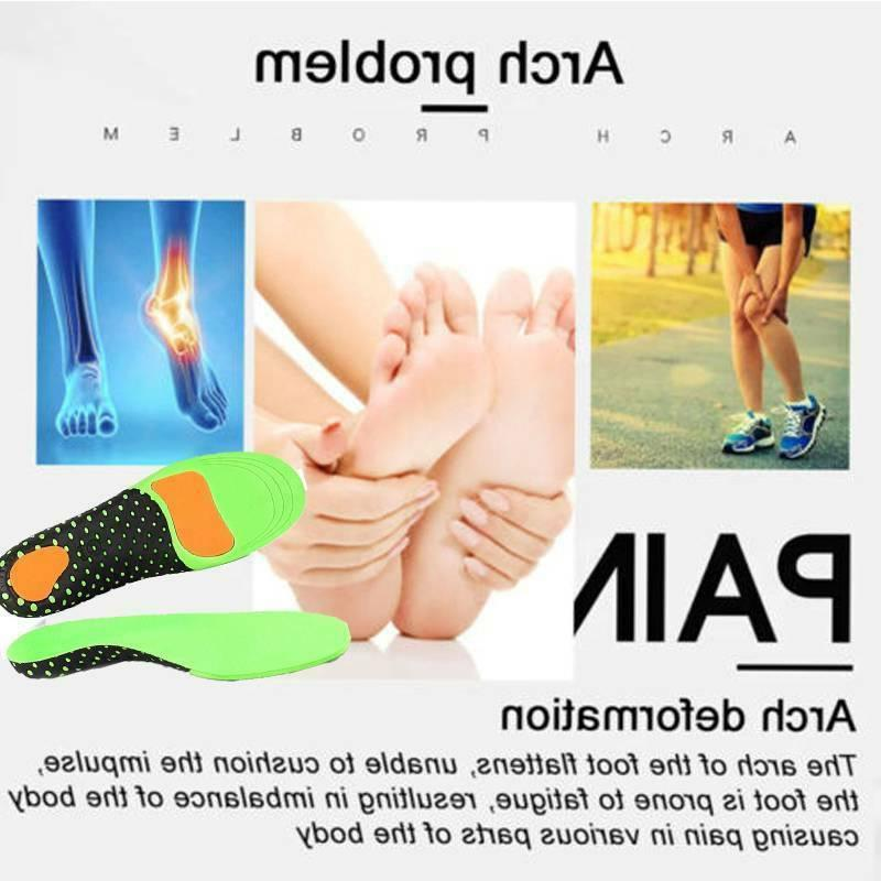 Orthotic Shoe Inserts Flat Feet Arch Support High Fasciitis CFR
