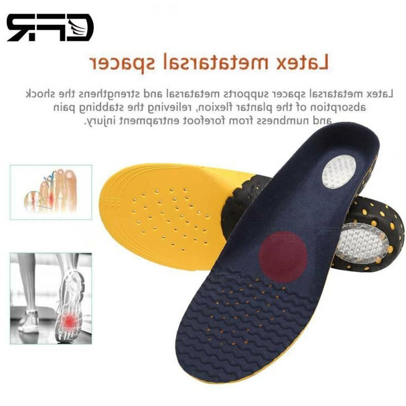 Orthotic Insoles Flat Heel High Arch Support Plantar