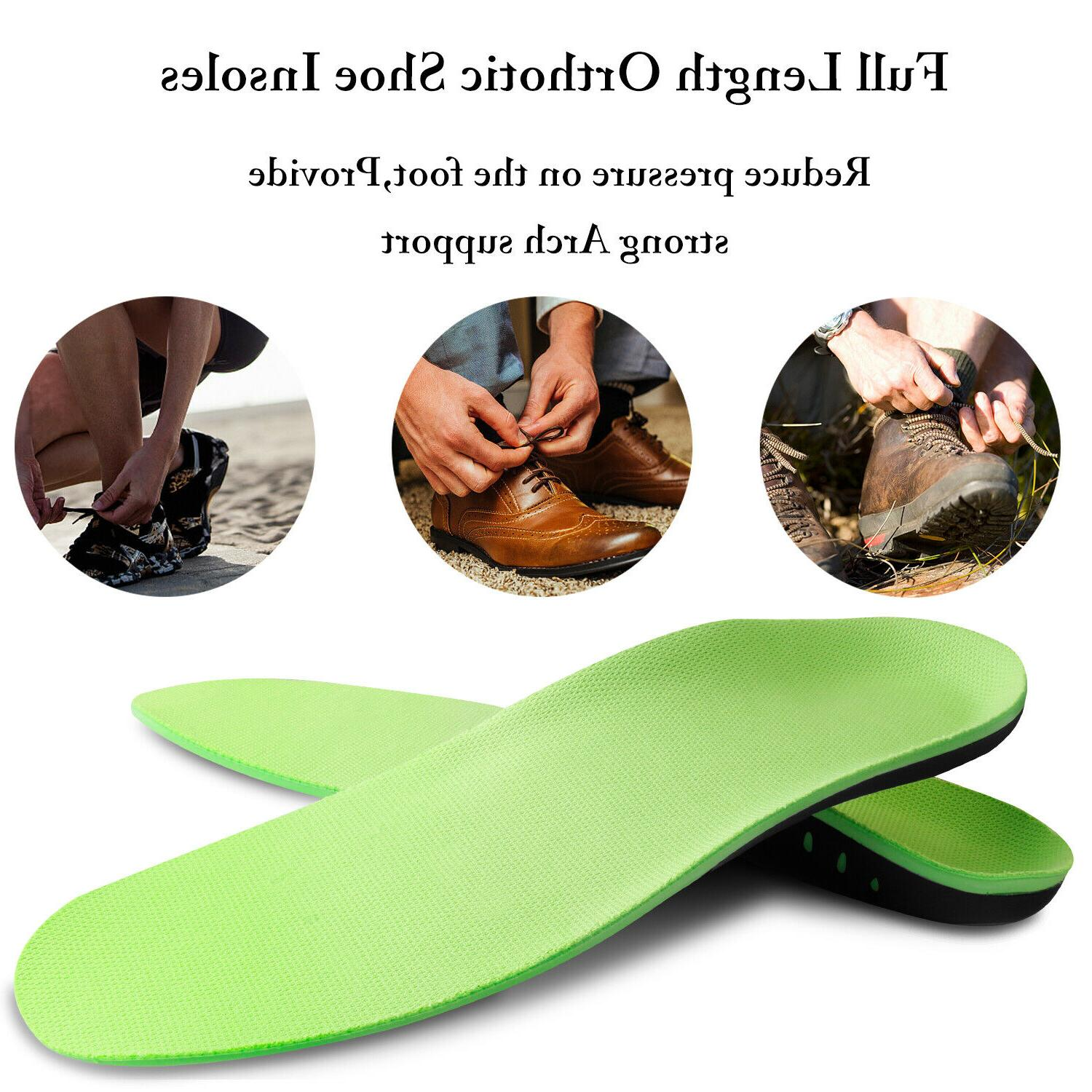 Orthotic Insoles Flat Foot Support