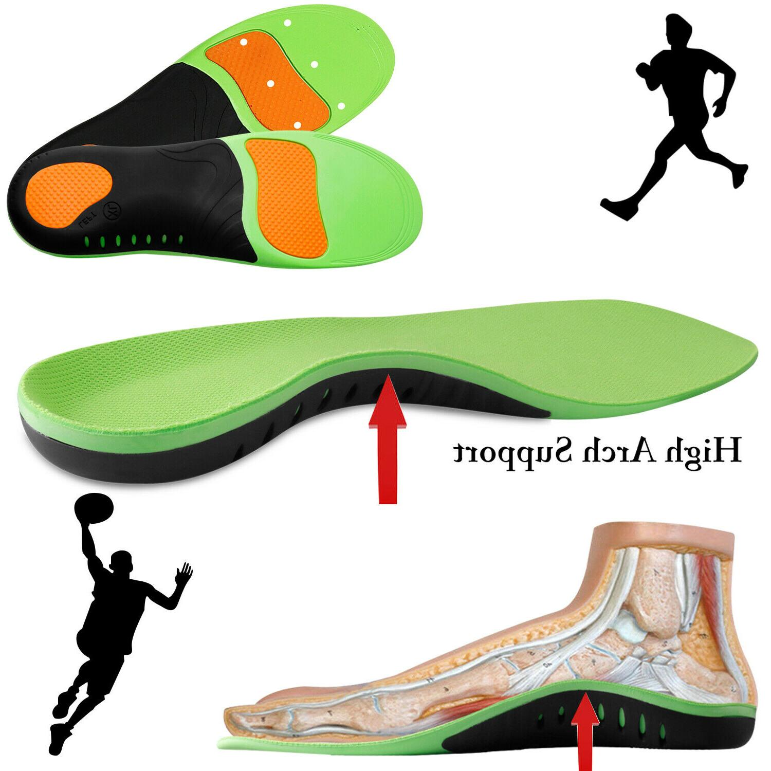 orthotic shoe insoles inserts flat foot high