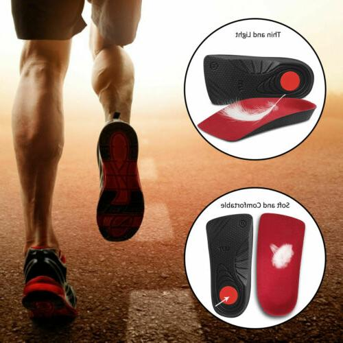 1 Pair Orthopedic Shoe Insoles Foot Plantar Fasciitis Suppor