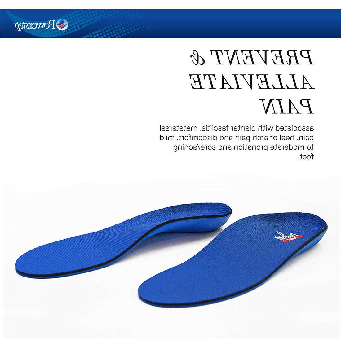 Powerstep Full Orthotic Insert DEFGJ