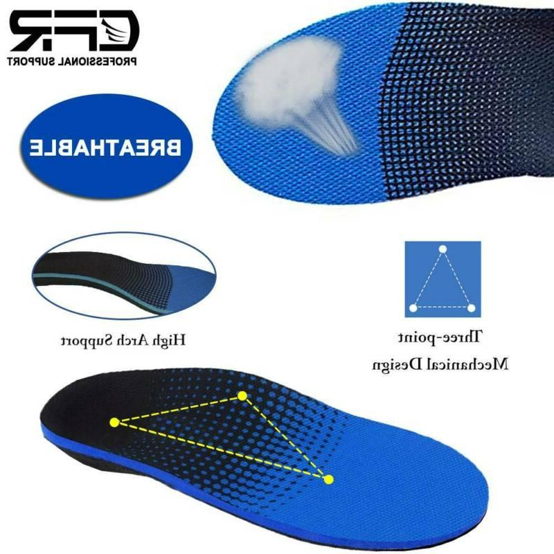 Plantar Arch Insoles Flat Pain