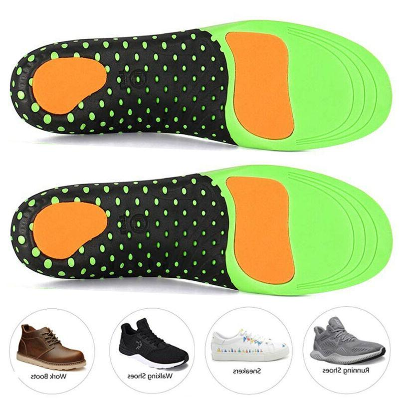 Premium Orthotic Shoes Insert High Arch Support Pad Sports For Men