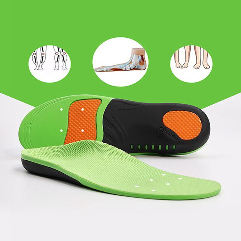 2018 Unisex Soft Orthotic Plantar Fasciitis Insoles Foot <fo