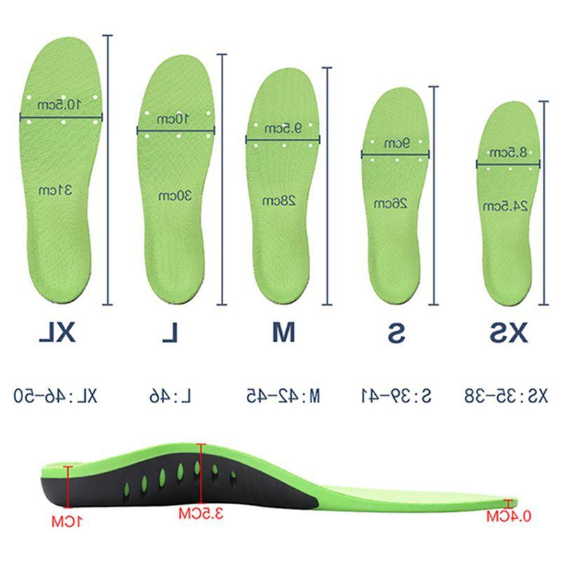Soft Orthotic Plantar Fasciitis Insoles Foot <font><b>Arch</
