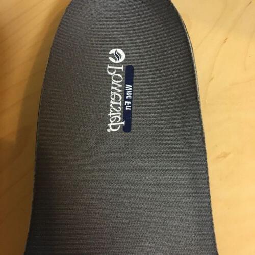 Powerstep Wide Gray Hard Arch Insole Shoe