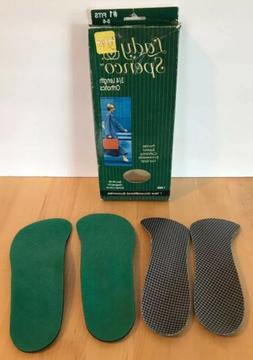 Lady Spenco Orthotics Arch Support Shoe Inserts 3/4 Length F