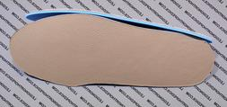 "Leather Insoles foam  - Flat Inserts for Shoes Boots 1/8"" or"