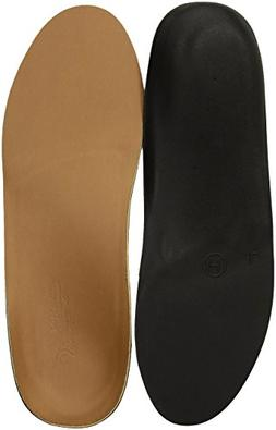 Powerstep Signature Dress Full Insole, Brown, Men's 8-8.5, W