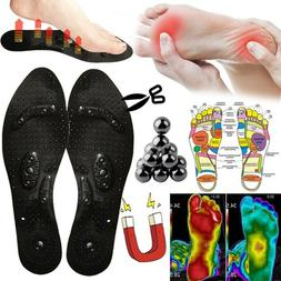 Massage Health Care Shoe Inserts Magnetic Therapy Shoes Pad