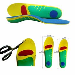 Men Arch Support Shoe Insoles Height Pads Inserts 2-4cm Lift