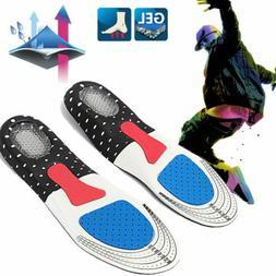 NEW Men Gel Orthotic Sport Running Insoles Insert Shoe Pad A
