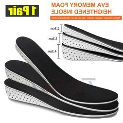 Men Height Increase Insole Heel Pad Lift Invisible Shoe Inso