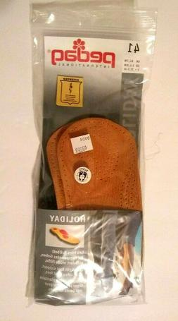 Mens Pedag Leather Shoe Inserts, US Size 8, Open Package, Ma