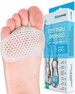 Metatarsal Pads Ball of Foot Cushions - Soft Gel Ball of Foo