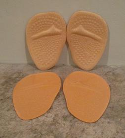 Metatarsal Pads for Women - 2 Pair - Ball of Foot Cushions S