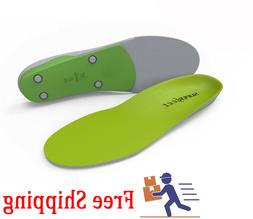 New! Green Superfeet Insoles Orthotics Shoe Inserts, Sizes -