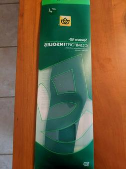 New Spenco Rx Comfort Insoles Inserts Support Shoe All Sizes