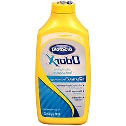 Dr. Scholl's OdorX All Day Deod Powder. 6.25 Ounces,