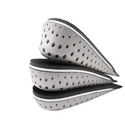 One Pair Breathable Memory Foam Height Increase Insole Invis