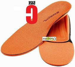 orange insoles inserts orthotic arch support men