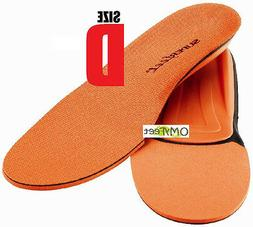 Superfeet ORANGE Insoles Inserts Orthotic Arch Support MEN S