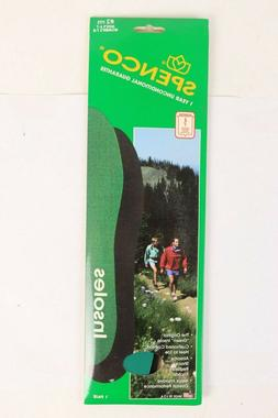 SPENCO Original Green Shoe Insoles Inserts NIB USA Mens 6-7