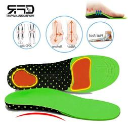 Orthotic Arch Support Shoe Insoles Shock Sports Inserts Plan