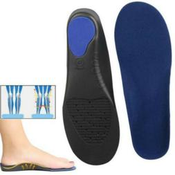 Orthotic Flat Foot Arch Support Cushion Shoe Insoles Heel Pa