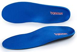 Orthotic Shoe Insoles for Flat Feet by NAZAROO, Arch Support