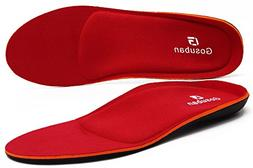 Gosuban Orthotic Insoles for Flat Feet,Arch Support Shoe Ins