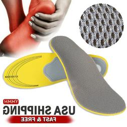 Orthotic Insoles for plantar fasciitis Flat Feet arch Suppor