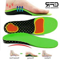 Orthotic Insoles Shoe Inserts Plantar Fasciitis Arch Support