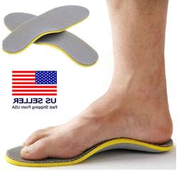 Orthotic Shoe Insoles Flat Feet Foot High Arch Gel Support I