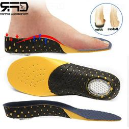 Orthotic Shoe Insoles High Arch Support Inserts Plantar Fasc