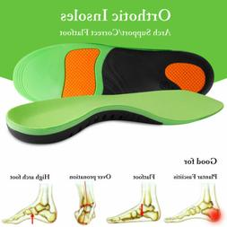 Orthotic Shoe Insoles High Arch Support Inserts for Plantar