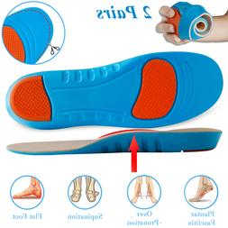 Orthotic Shoe Insoles Inserts Arch Support For Plantar Fasci