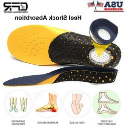 Orthotic Shoe Insoles Inserts Flat Feet Heel High Arch Suppo